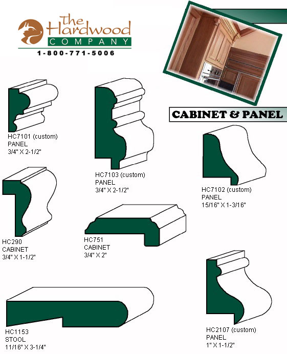 moulding profiles Gallery